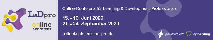 Banner für die Online Konferenz L&Dpro 2020